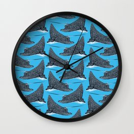 The Spotted Eagle Ray Wall Clock
