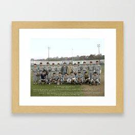 Dai Nippon Baseball Club, Tokyo, Japan at Athletic Park, Vancouver - May 11 1935 Framed Art Print