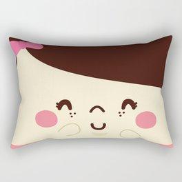 Pajaritos en mi Cabeza Rectangular Pillow