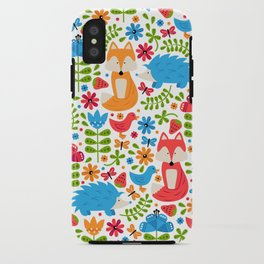 Fox Forest iPhone Case
