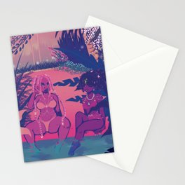Paradise In Hell Stationery Cards
