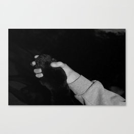 Love For My Dog [SWAG] Canvas Print