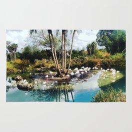 Flamingo Lagoon Rug