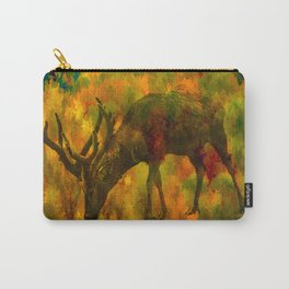 Camouflage Deer Carry-All Pouch