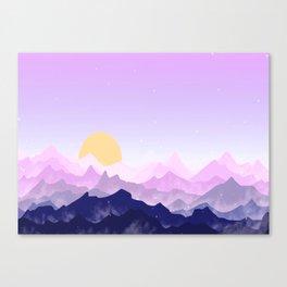 Landscape XCX Canvas Print