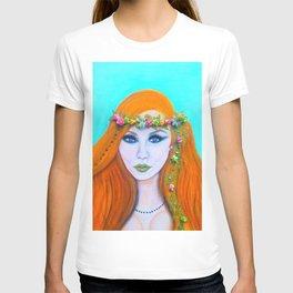 Redhead Poison Ivy Goddess T-shirt