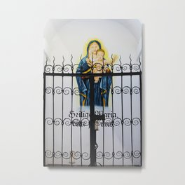 Mary and Child Metal Print