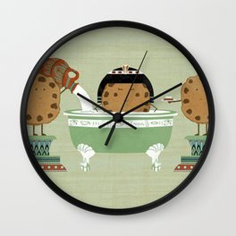 Cook test Wall Clock