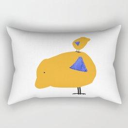 Sunny Family Father and Boy Rectangular Pillow