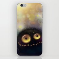 spider iPhone & iPod Skins featuring spider by Katja Main