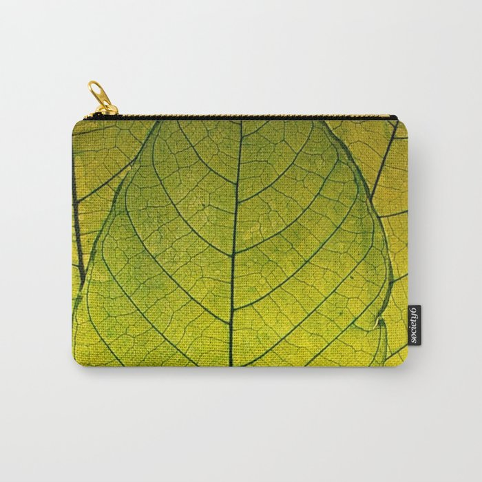 Every Leaf a Flower Carry-All Pouch
