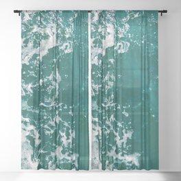 Emerald Waters Sheer Curtain