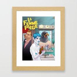 La Femme Piège Framed Art Print
