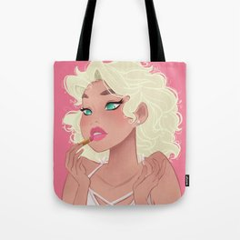 LIPSTICK - Cosmetic Collection (Pink) Tote Bag