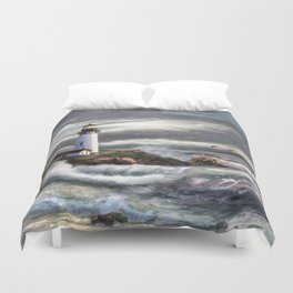 Beam of Hope Duvet Cover