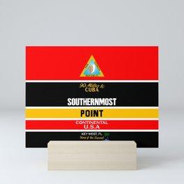 Southern Most Point, Key West, Florida/サザン・モスト・ポイント Mini Art Print