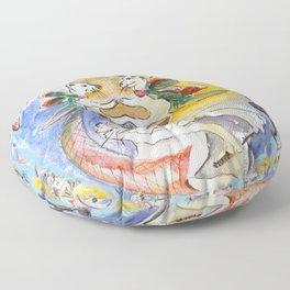 Pet Outing Floor Pillow