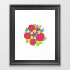 Bouquet #3 Framed Art Print