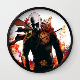 One Punch-Man Saitama 4 Wall Clock