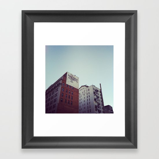Bank and Trust Framed Art Print