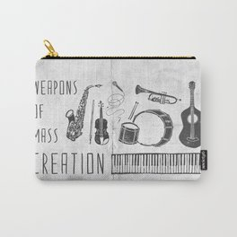Weapons Of Mass Creation - Music (on paper) Carry-All Pouch