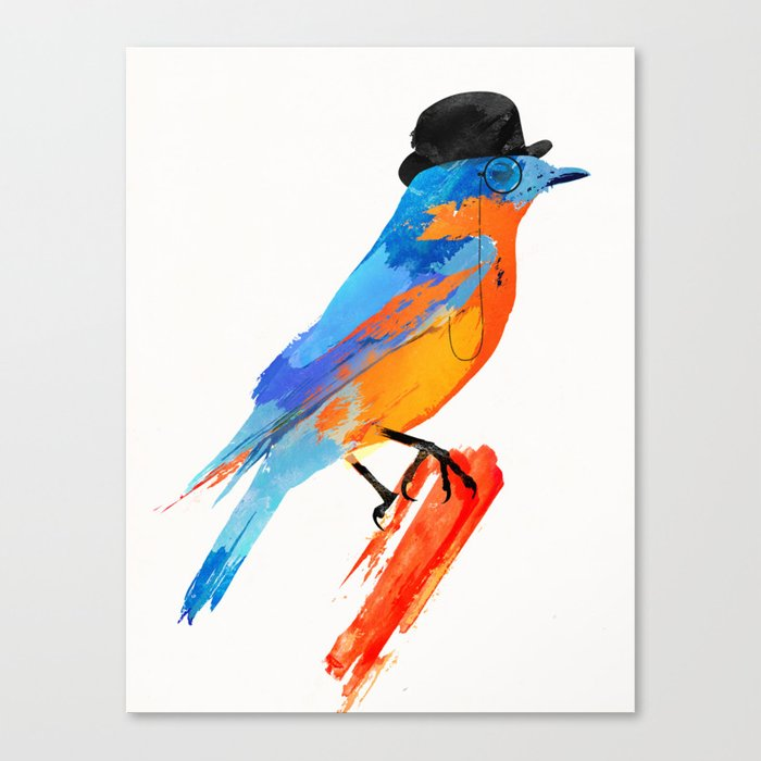 Lord Birdy Canvas Print
