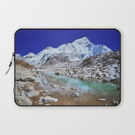 Mount Nuptse view and Mountain landscape view in Sagarmatha National Park, Nepal Himalaya. Laptop Sleeve
