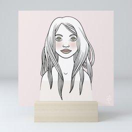 Rosenrot Mini Art Print
