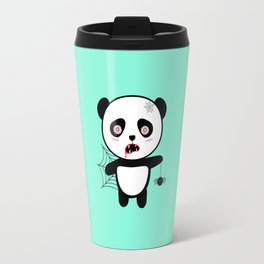Happy Halloween Horror Panda T-Shirt Daopu Travel Mug