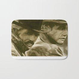 Butch Cassidy and the Sundance Kid Bath Mat