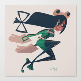 Froppy Canvas Print