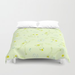 The Frog Prince Duvet Cover