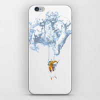 wallet iPhone & iPod Skins featuring Avalanche by Aneesh vini