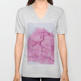 Light-Pink Hydrangeas #1 #decor #art #society6 Unisex V-Neck