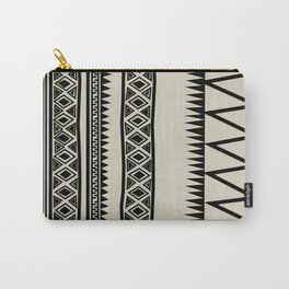 MALOU ZEBRA Carry-All Pouch
