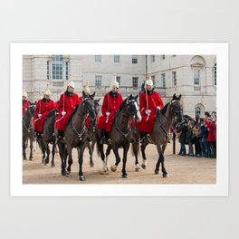 Household Cavalry Art Print