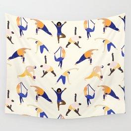 Asanas Wall Tapestry