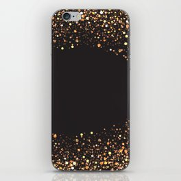 Black and gold #society6 iPhone Skin