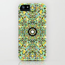Hyperspace Glyph iPhone Case