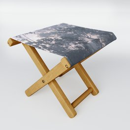 The mysteries of the morning mist Folding Stool