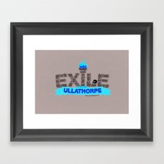 Exile From Ullathorpe - Our Logo Framed Art Print