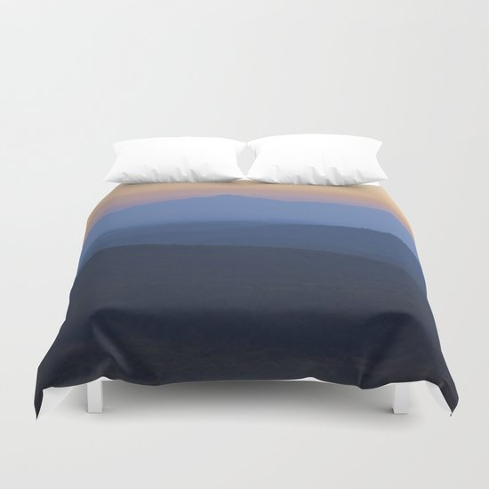 romantic evening Duvet Cover