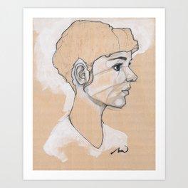 The UnFulfilled One Art Print