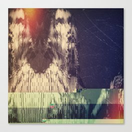 disintegration Canvas Print