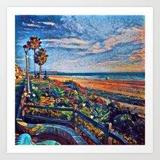 Coastal View Two Art Print