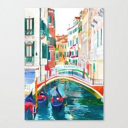Canal in Venice Leinwanddruck