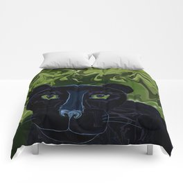 Do Panthers Fly? Comforters