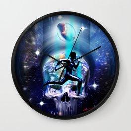 THE RUN Wall Clock