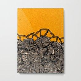 - barricades - Metal Print