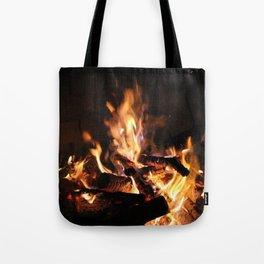Campfire. Tote Bag